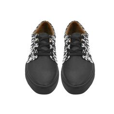 Lace Up Womens Shoes stunning black and white Womens Leather Fashion Sneakers -- Check this awesome product by going to the link at the image. (This is an affiliate link and I receive a commission for the sales)