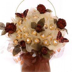 Sweet Sentiment Candy Bouquet