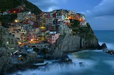 Cinque Terre Italy, One of most favorite places in Italy Places Around The World, Oh The Places You'll Go, Places To Travel, Travel Destinations, Places To Visit, Time Travel, Cinque Terre Itália, Dream Vacations, Vacation Spots