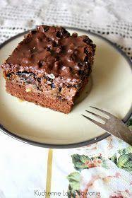 Polish Desserts, Polish Recipes, Cookie Desserts, Sweet Recipes, Cake Recipes, Dessert Recipes, Mini Tortillas, Chocolate Mousse Cake, Homemade Cakes