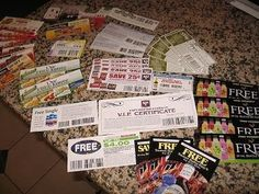 Ahhhh I found it again! 173 companies that will send you coupons/free stuff if you just e-mail them. I came across this and e-mailed a handful of them at the time- I already got coupons for free items and it hasn't even been a week! Had to search and search for this blog- never again! :)