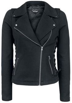Skull Sweat Jacket - Rock Rebel by EMP Veste intersaison