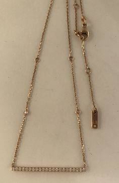 Messika Gatsby Necklace 18k £1,200