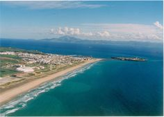 Tarifa - The Wind- and Kite surfing Capital of Europe Aerial View, Morocco, Over The Years, Spanish, Surfing, To Go, Africa, Europe, Vacation