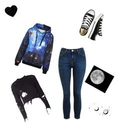 """""""Untitled #216"""" by kayla-2003 on Polyvore featuring Topshop, adidas Originals and Converse"""