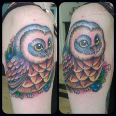 Unique Owl Tattoos | Owl Tattoos Pictures And Images Page 68