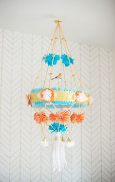 DIY pajaki for the nursery