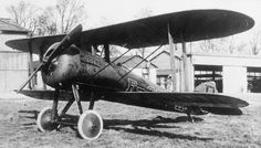 Nieuport 28 single-seat fighter biplane. Post-war civil registered aircraft.