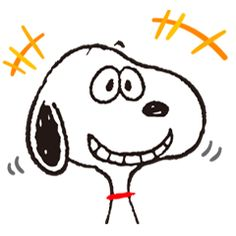 Snoopy, the dog of a thousand faces, is here to laugh, cry, smile, and blunder his way into your heart. He's also out to liven up chats with a little mischief!