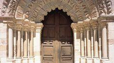 Door of the church Of La Magdalena. Zamora - Spain © Turespaña