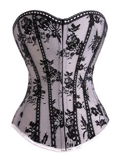 Like the idea of combining bustier with lace pattern