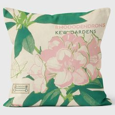 Search results for: 'rhododendron' Kew Gardens London, Pink Home Decor, Dusty Pink, Cushions, Floral, Bags, Throw Pillows, Handbags, Dusty Rose