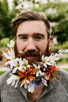 chrisbrinleejr:  Yours, beardly. Photo by Daniel Bruce Lee.  Ginger beards FTW. Fuck Yeah Flower Beards!