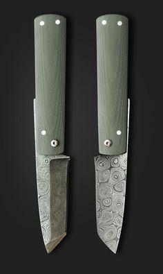 Great IVAN CAMPOS Higonocampos (via Pivot  Tang) - Helle knives