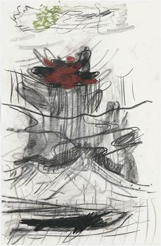 Per Kirkeby Untitled, ca. Charcoal, pastel, gouache on paper x cm Gouache, Charcoal, Pastel, Contemporary, Abstract, Gallery, Drawings, Painting, Contemporary Abstract Art