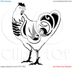 chicken clip art black and white - Google Search Chicken Clip Art, Black And White Google, Disney Characters, Fictional Characters, Stamps, Carving, Google Search, Seals, Wood Carvings