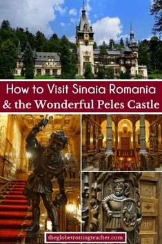 Are you planning to visit Sinaia Romania and Peles Castle? The town is easily reached by train from Brasov and Bucharest. Peles Castle is a must-see gem. Backpacking Europe, Europe Travel Guide, Europe Destinations, Spain Travel, Budget Travel, Travel Guides, Peles Castle, Visit Romania, Romania Travel