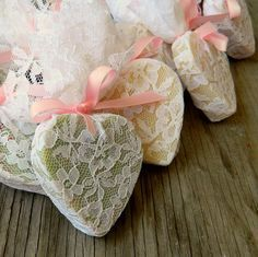 Wedding Favour / Heart Soap Favor / Wedding Shower Favors as seen in Wedding Chicks Blog / Rustic Wedding Favor / Qty 100. $175.00, via Etsy.