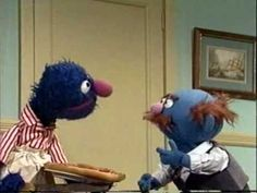 Sesame Street - Fat Blue orders from Speedy Pizza - YouTube