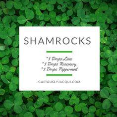 Shamrocks Diffuser Recipe