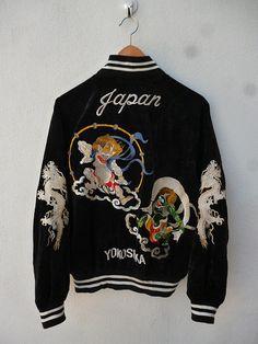 Vintage Raijin Tedman Flying Evil Devil Japan by THRIFTEDISABELLE