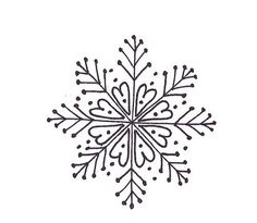 Pretty embroidered paper DIY # snowflake #embroidery #pattern : would look so pretty on a heart.: