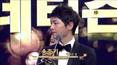 SONG JOONG KI & MOON CHAE WON (Netizen Award @ 2012 KBS DRAMA AWARDS)