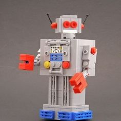 I AM A ROBOT...how many times have you heard this one? Now they can build their own!