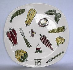 VINTAGE MIDWINTER LARGE SALAD WARE TERENCE CONRAN PLATE