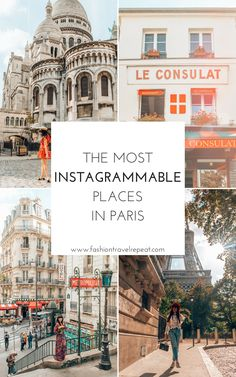 The 15 Most mable Places in Paris. The Best Paris and photography spots Paris Travel Guide, Europe Travel Tips, European Travel, Travel Guides, Places To Travel, Travel Destinations, Places To Visit, Budget Travel, Paris Photography
