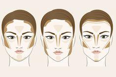 Aprenda a fazer o contorno certo para cada tipo de rosto