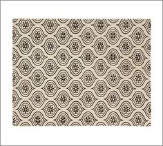thinking i like this better than a red rug, subtle... Malaga Tile Rug | Pottery Barn
