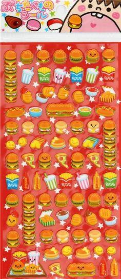 Crux Hamburger Sticker Sheet