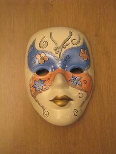 Inspiracion en las mascaras de Venecia