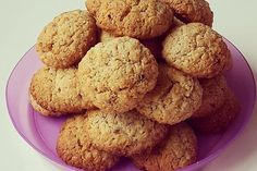 Haferflocken – Nuss – Plätzchen Muffin, Cookies, Breakfast, Cake, Desserts, Recipes, Food, Sweet Stuff, Oat Cookies