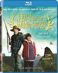 Hunt For the Wilderpeople [Blu-ray] Top Movies To Watch, Movie To Watch List, Movie List, Movie Tv, Best Teen Movies, The Best Films, Great Films, Good Movies, Hunt For The Wilderpeople
