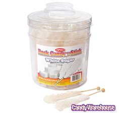 Just found Rock Candy Crystal Sticks - White: 36-Piece Tub @CandyWarehouse, Thanks for the #CandyAssist!
