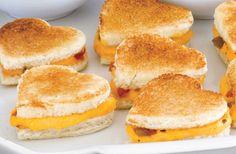 Recetas para San Valentín: sandwich San Valentín
