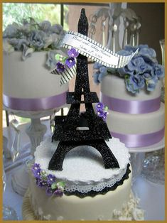 Hey, I found this really awesome Etsy listing at https://www.etsy.com/listing/153086046/eiffel-tower-cake-topper