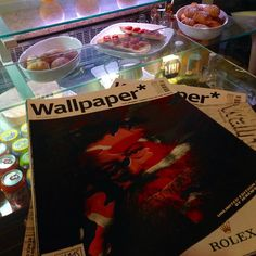 We have a library of #wallpapermagazine to read @sprio_cafe whilst enjoying our #italiancafe food or #coffee  #edinfoodies #edinburghcafe #edinburghbloggers #edinburgh #ststephenstreet #stockbridgeedinburgh #cappoccino #chocolate #sprio_cafe #thisisedinburgh #offthebeatenpath #offthebeatentrack #scotstreetstyle