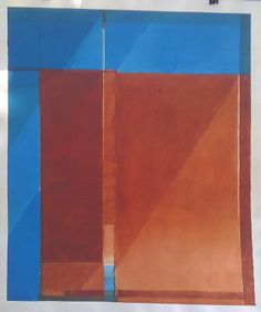 no title, 1976, acrylic on paper, 26,5x22in. (67x56cm.)