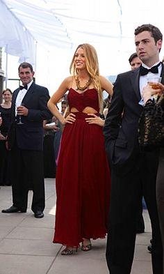 "Serena wears dress J. Mendel Gossip Girl - 4x04 - ""Touch of Eva"""