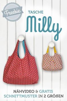Sewing Projects For Beginners, Sewing Tutorials, Bag Patterns To Sew, Sewing Patterns, My Bags, Purses And Bags, Diy Purse, Fabric Bags, Love Sewing