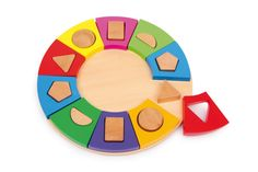 Shape Sorting Circle for Dementia Patients