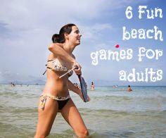 6 fun beach games for adults