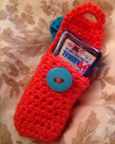 Items similar to Crochet Hand Sanitizer Holder Cozy on Etsy Diy Crochet, Crochet Crafts, Crochet Keychain Pattern, Crochet Mobile, Hand Sanitizer Holder, Craft Fairs, Bath And Body Works, Fun Crafts, Crochet Patterns