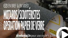 #VIDÉOBRÈVE #moto/#scooter : une opération papier de verre jusqu'à vendredi: Opération papier de verre de la Sécurité… pour + d'infos/vidéo
