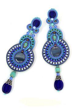 Indigo Earrings by Dori Csengeri   Charm & Chain