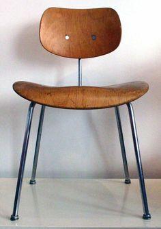 1950 - SE 68 Chair - Egon Eiermann