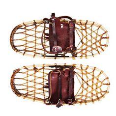 Silent Glider Wooden Snowshoes #KaufmannMercantileEssentials